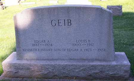 GEIB, EDGAR A. - Stark County, Ohio | EDGAR A. GEIB - Ohio Gravestone Photos