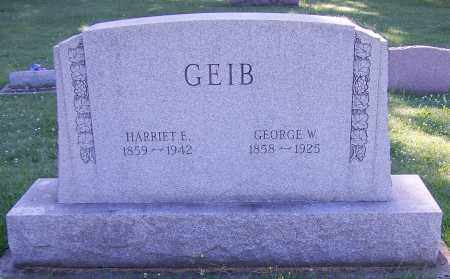 GEIB, GEORGE W. - Stark County, Ohio | GEORGE W. GEIB - Ohio Gravestone Photos