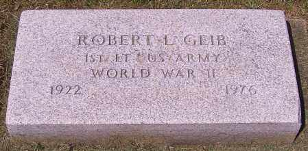 GEIB, ROBERT L. - Stark County, Ohio | ROBERT L. GEIB - Ohio Gravestone Photos