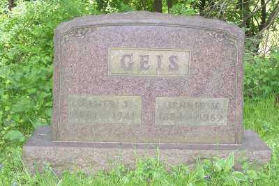 HISSONG GEIS, JENNIE M. - Stark County, Ohio | JENNIE M. HISSONG GEIS - Ohio Gravestone Photos