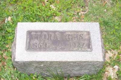 GEIS, FLORA - Stark County, Ohio | FLORA GEIS - Ohio Gravestone Photos