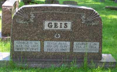 GEIS, GEORGE L. SR. - Stark County, Ohio | GEORGE L. SR. GEIS - Ohio Gravestone Photos