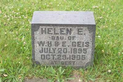 GEIS, HELEN E. - Stark County, Ohio | HELEN E. GEIS - Ohio Gravestone Photos