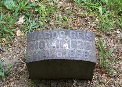 GEIS, JACOB - Stark County, Ohio   JACOB GEIS - Ohio Gravestone Photos