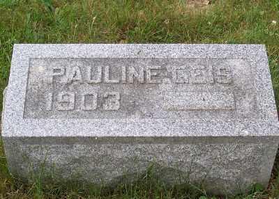GEIS, PAULINE - Stark County, Ohio | PAULINE GEIS - Ohio Gravestone Photos