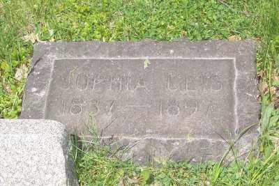 GEIS, SOPHIA - Stark County, Ohio | SOPHIA GEIS - Ohio Gravestone Photos