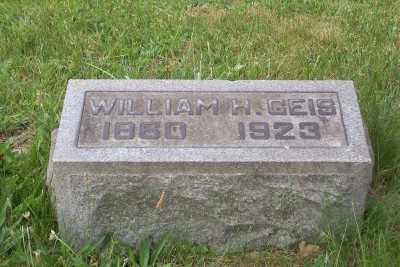 GEIS, WILLIAM H. - Stark County, Ohio | WILLIAM H. GEIS - Ohio Gravestone Photos