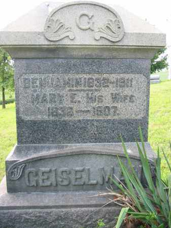 GEISELMAN, MARY E - Stark County, Ohio | MARY E GEISELMAN - Ohio Gravestone Photos