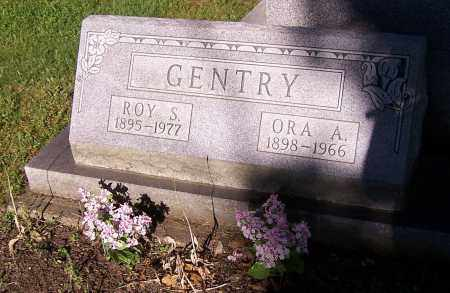 GENTRY, ORA A. - Stark County, Ohio | ORA A. GENTRY - Ohio Gravestone Photos
