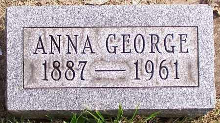 GEORGE, ANNA - Stark County, Ohio | ANNA GEORGE - Ohio Gravestone Photos