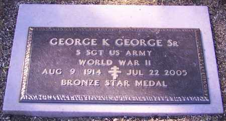 GEORGE, GEORGE K. (SR) - Stark County, Ohio | GEORGE K. (SR) GEORGE - Ohio Gravestone Photos