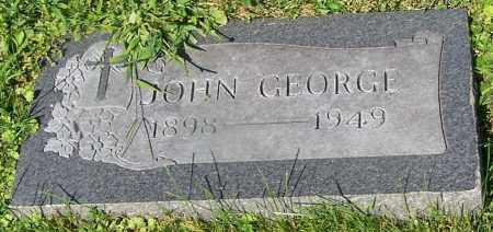 GEORGE, JOHN - Stark County, Ohio | JOHN GEORGE - Ohio Gravestone Photos