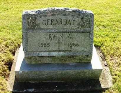 GERARDAT, IRWIN A. - Stark County, Ohio | IRWIN A. GERARDAT - Ohio Gravestone Photos