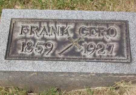 GERO, FRANK - Stark County, Ohio | FRANK GERO - Ohio Gravestone Photos