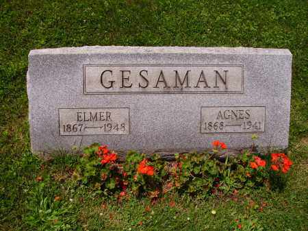 GESAMAN, AGNES - Stark County, Ohio | AGNES GESAMAN - Ohio Gravestone Photos