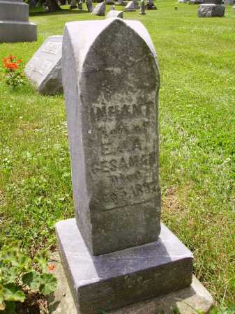 GESAMAN, INFANT SON - Stark County, Ohio | INFANT SON GESAMAN - Ohio Gravestone Photos