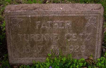 GETZ, TURENNE - Stark County, Ohio   TURENNE GETZ - Ohio Gravestone Photos