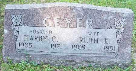 GEYER, HARRY O. - Stark County, Ohio | HARRY O. GEYER - Ohio Gravestone Photos