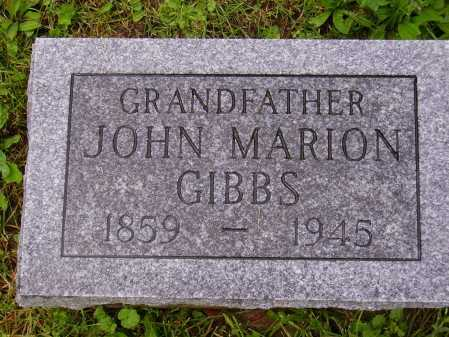 GIBBS, JOHN MARION - Stark County, Ohio | JOHN MARION GIBBS - Ohio Gravestone Photos