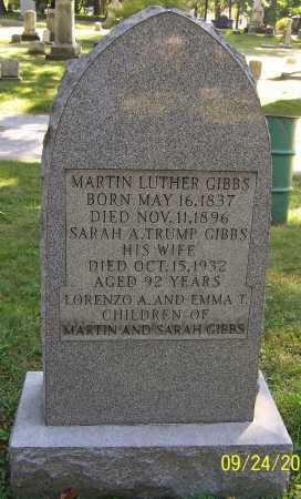 TRUMP GIBBS, SARAH A. - Stark County, Ohio | SARAH A. TRUMP GIBBS - Ohio Gravestone Photos