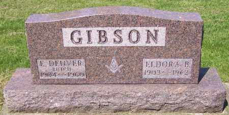 GIBSON, E. DENVER - Stark County, Ohio | E. DENVER GIBSON - Ohio Gravestone Photos