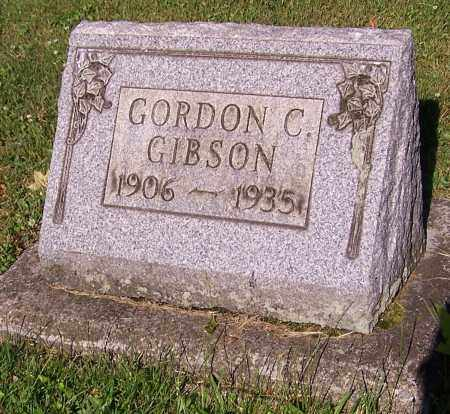 GIBSON, GORDON C. - Stark County, Ohio | GORDON C. GIBSON - Ohio Gravestone Photos