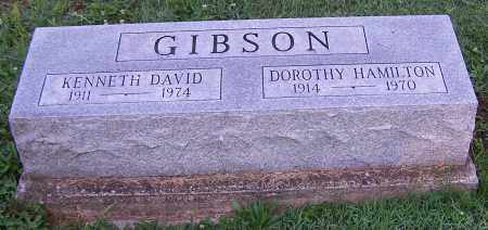 GIBSON, KENNETH DAVID - Stark County, Ohio | KENNETH DAVID GIBSON - Ohio Gravestone Photos