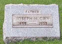 GIEY, JOSEPH - Stark County, Ohio | JOSEPH GIEY - Ohio Gravestone Photos