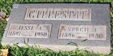 GILLESPIE, JESSE A. - Stark County, Ohio | JESSE A. GILLESPIE - Ohio Gravestone Photos