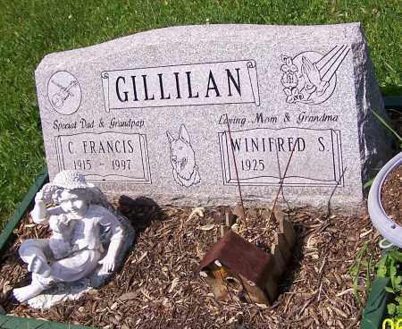 GILLILAN, C. FRANCIS - Stark County, Ohio | C. FRANCIS GILLILAN - Ohio Gravestone Photos