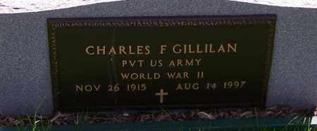 GILLILAN, CHARLES F.  (MIL) - Stark County, Ohio | CHARLES F.  (MIL) GILLILAN - Ohio Gravestone Photos