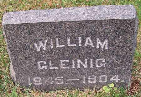 GLEINIG, WILLIAM - Stark County, Ohio | WILLIAM GLEINIG - Ohio Gravestone Photos