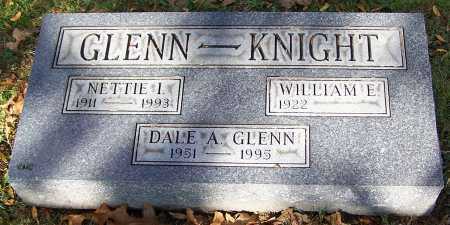 GLENN - KNIGHT, NETTIE I - Stark County, Ohio | NETTIE I GLENN - KNIGHT - Ohio Gravestone Photos