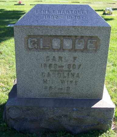 GLODDE, CAROLINA - Stark County, Ohio | CAROLINA GLODDE - Ohio Gravestone Photos