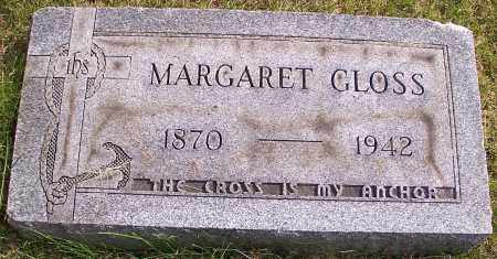 GLOSS, MARGARET - Stark County, Ohio | MARGARET GLOSS - Ohio Gravestone Photos