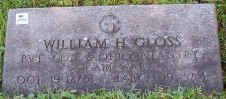 GLOSS, WILLIAM H. - Stark County, Ohio | WILLIAM H. GLOSS - Ohio Gravestone Photos