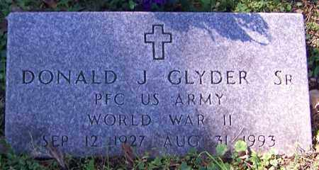 GLYDER, DONALD J. (SR) - Stark County, Ohio | DONALD J. (SR) GLYDER - Ohio Gravestone Photos