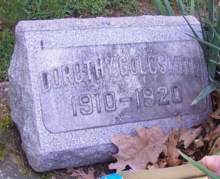 GOLDSMITH, DOROTHY - Stark County, Ohio   DOROTHY GOLDSMITH - Ohio Gravestone Photos