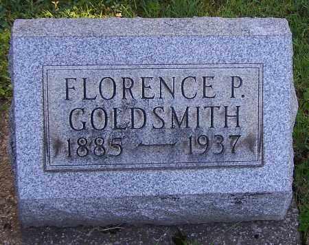 GOLDSMITH, FLORENCE P. - Stark County, Ohio | FLORENCE P. GOLDSMITH - Ohio Gravestone Photos