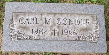GONDER, CARL M. - Stark County, Ohio | CARL M. GONDER - Ohio Gravestone Photos