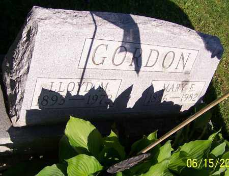 GORDON, MARY E. - Stark County, Ohio | MARY E. GORDON - Ohio Gravestone Photos