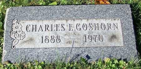 GOSHORN, CHARLES E. - Stark County, Ohio | CHARLES E. GOSHORN - Ohio Gravestone Photos