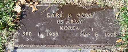 GOSS, EARL R. - Stark County, Ohio | EARL R. GOSS - Ohio Gravestone Photos