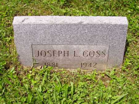 GOSS, JOSEPH L. - Stark County, Ohio | JOSEPH L. GOSS - Ohio Gravestone Photos