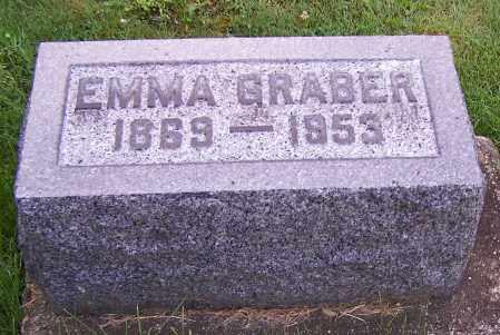 GRABER, EMMA - Stark County, Ohio | EMMA GRABER - Ohio Gravestone Photos