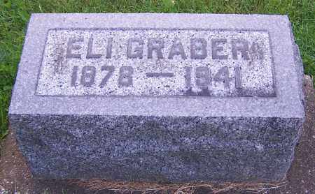 GRABER, ELI - Stark County, Ohio | ELI GRABER - Ohio Gravestone Photos