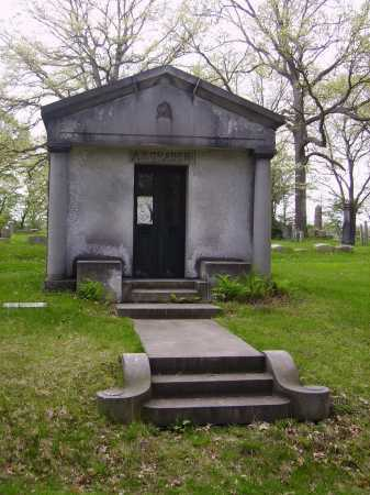 GRABER MAUSOLEUM, OVER ALL VIEW - Stark County, Ohio | OVER ALL VIEW GRABER MAUSOLEUM - Ohio Gravestone Photos