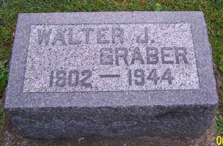 GRABER, WALTER J. - Stark County, Ohio | WALTER J. GRABER - Ohio Gravestone Photos