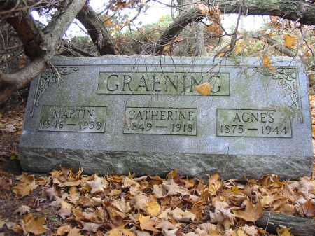 GRAENING, CATHERINE - Stark County, Ohio | CATHERINE GRAENING - Ohio Gravestone Photos