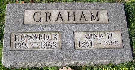 GRAHAM, MINA H. - Stark County, Ohio | MINA H. GRAHAM - Ohio Gravestone Photos